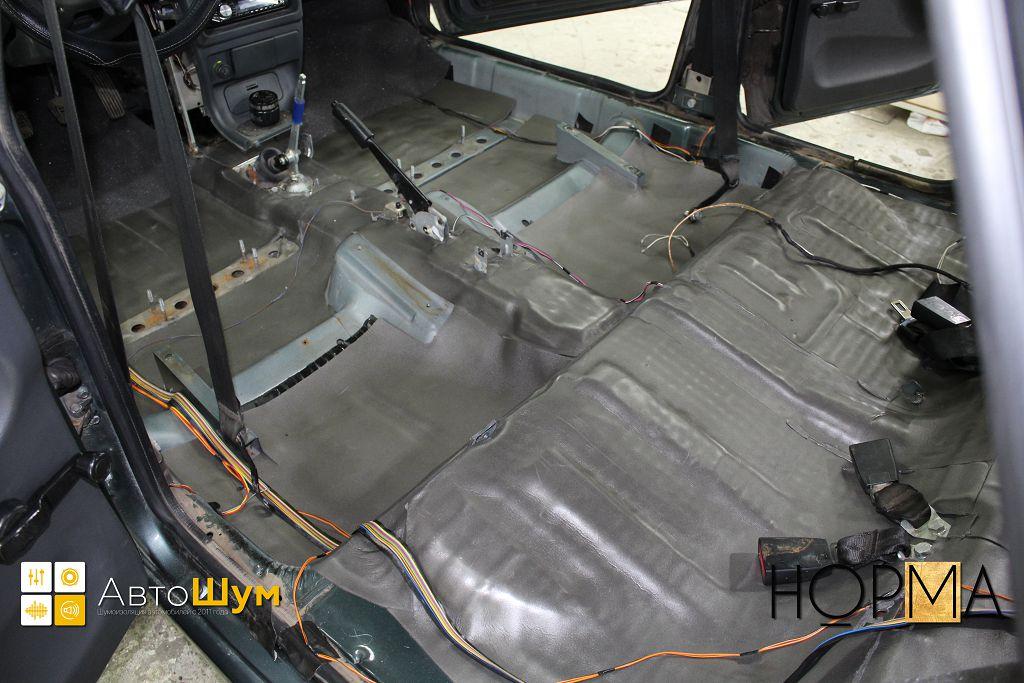 Как сделать шумку в багажник 226